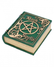 Green Book Of Spells Casket