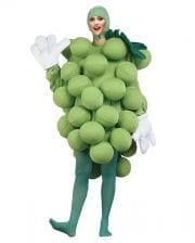 Wein-Trauben Kostüm Deluxe grün