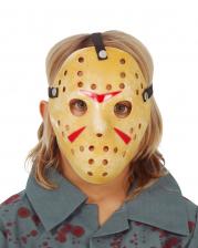 Creepy Hockey Mask For Kids