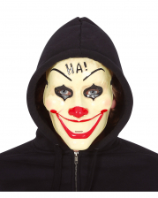 HA! Clown PVC Halbmaske