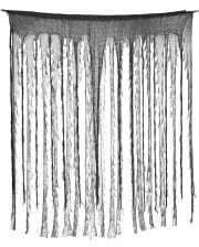 Halloween Rag Curtain Black/Grey 150 X 190 Cm
