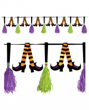 Halloween Garland With Witch Motive 300 Cm