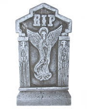 Halloween tombstone RIP with angel