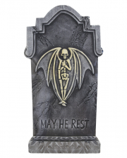 Halloween Gravestone Skeleton Angel