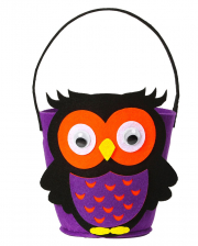 "Halloween Basket ""Owl"""