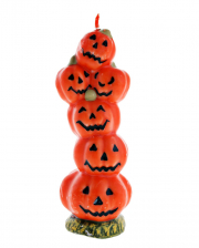 Halloween Pumpkin Candle 19 Cm