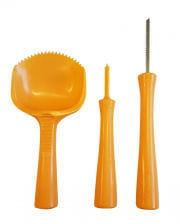 Pumpkin carving set of 3 pieces