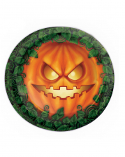 Halloween Pumpkin Party Plate 8 Pieces