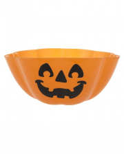 Halloween Bowl With Pumpkin Face
