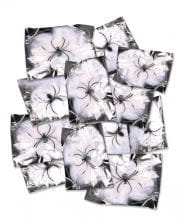 12 Pcs. Cobwebs With Spiders - Minipack