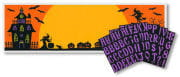 Halloween Banner With Letters