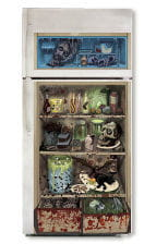 Halloween Fridge Door Cover