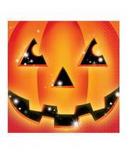 Halloween Kürbis Servietten 16 St.