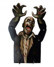 Halloween Tischdeko Zombie