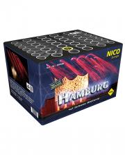 Hamburg 42 Schuss Feuerwerk