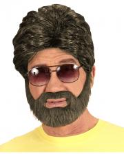 Hangover Wig With Beard