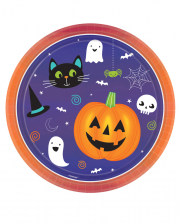 8 Happy Halloween Pappteller