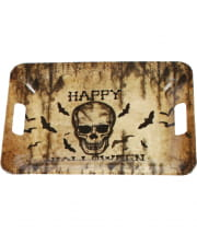 Happy Halloween Tablett Skull