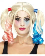 Crazy Harlequin Wig