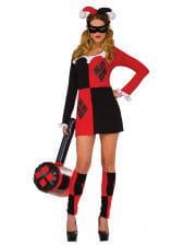 Harley Quinn mini costume dress