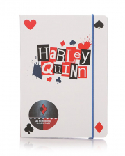 Harley Quinn Notebook A6