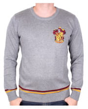 Gray Harry Potter Gryffindor Sweater
