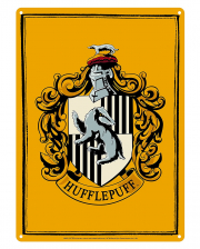 Harry Potter Hufflepuff Metallschild DIN A5