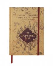 Harry Potter Karte des Rumtreibers Notizbuch
