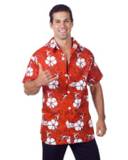 Hawaii Shirt Red Plus Size