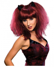 Hot She-devil Wig With Horns
