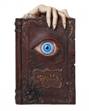 Witch Book Money Box With Wiggle Eye