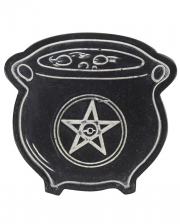 Witch Cauldron Incense & Cone Holder