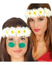 Hippie Blumen Stirnband