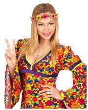 Hippie Haarband mit Blümchen