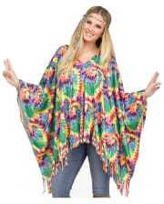 Hippie poncho with hair band