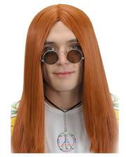 Hippie Brille mit getönten Gläsern