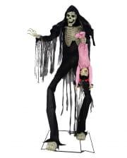 Giant Boogey Man Skeleton Animatronic 213 Cm