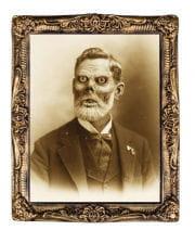 Hologramm Portrait Zombie Großvater 38 x 51 cm