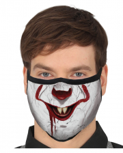 Horror Clown 3 Layer Everyday Mask