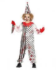 Horror-Clown Kinderkostüm