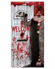 Horror Clown Türfolie