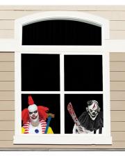 Horrorclowns Window Foil 60cm