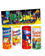 Fun Bombs Tischfeuerwerk 4er-Btl.