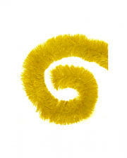 Tinsel Garland yellow