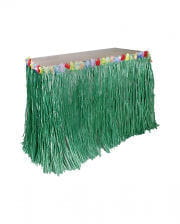 Hula Table Skirt Green