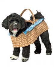 Dog In Basket Dog Costume