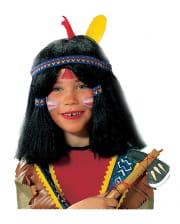 Indian Children wig black