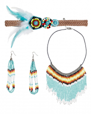 Indian Woman Costume Jewellery 4 Pcs.