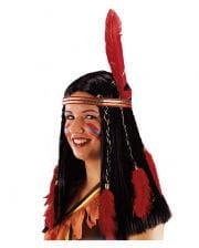 Indianerin Squaw Perücke