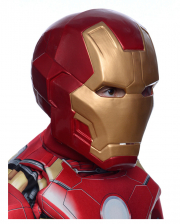 2-piece Iron Man Deluxe Child Mask